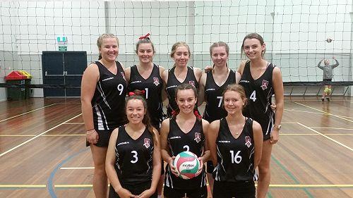 Girls Senior A Volleyball Team