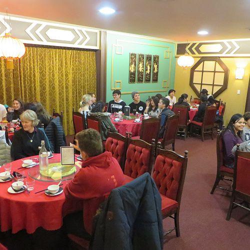 Dinner at Nanking Palace