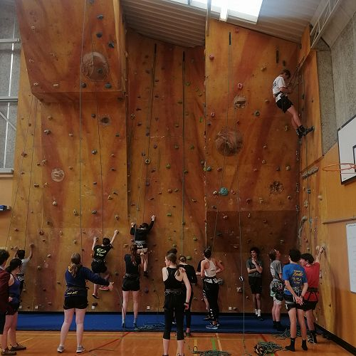Rock climbing Flex with Mr Sutherland