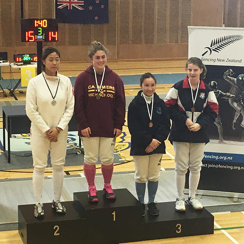 New Zealand National Secondary School Fencing Championships