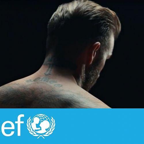 Video: David Beckham: Violence can mark children forever | #ENDviolence