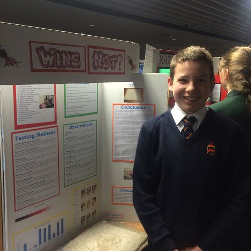 Will Turner at Otago Science Fair