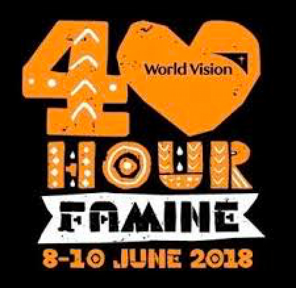 40-Hour Famine, 8th - 10th June - it's on this weekend  A