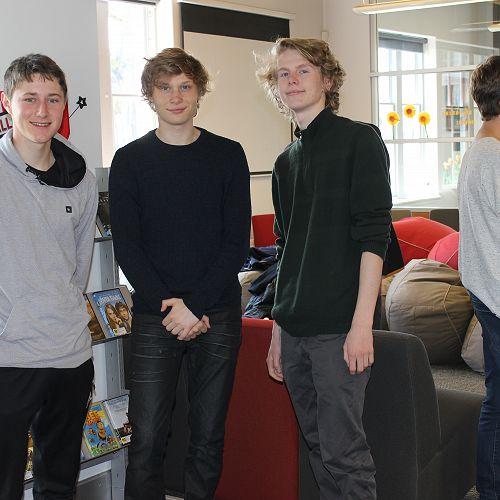 Alex, Henry and Liam