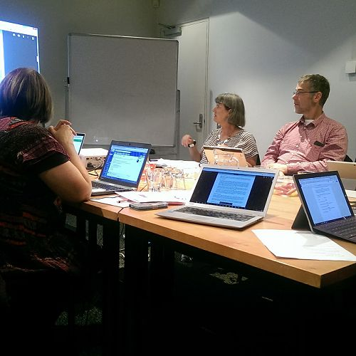Project group meeting in Dunedin