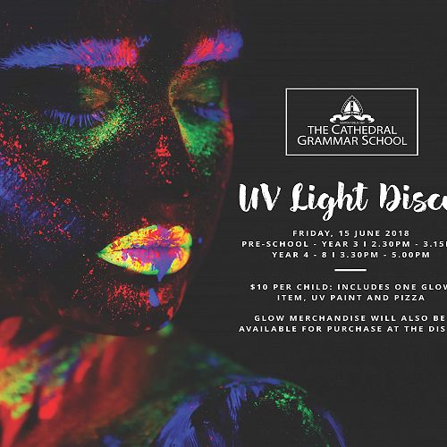 UV Light Disco - Friday 15 June 2018