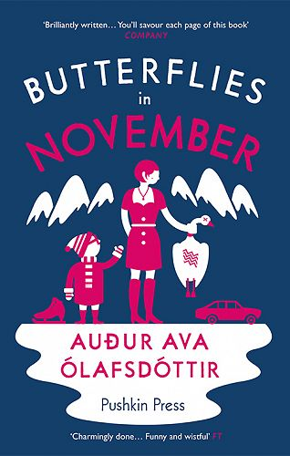 Butterflies in November, cover