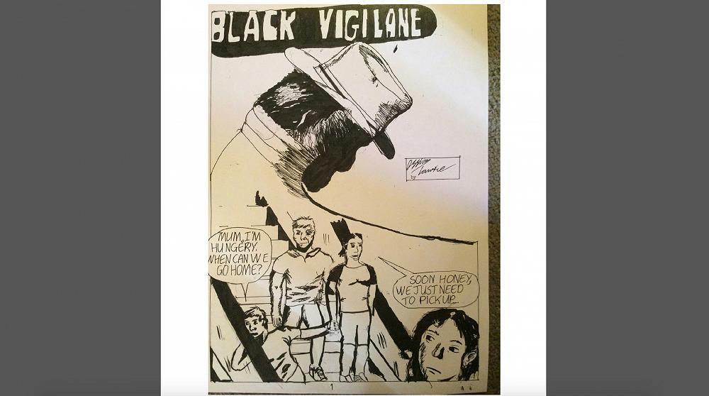Black Vigilane 1 - Ossian Lawrie