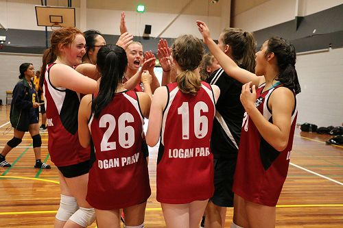 Senior A Girls Volleyball Tournament