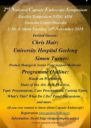 Capsule Endoscopy Symposium 20 November