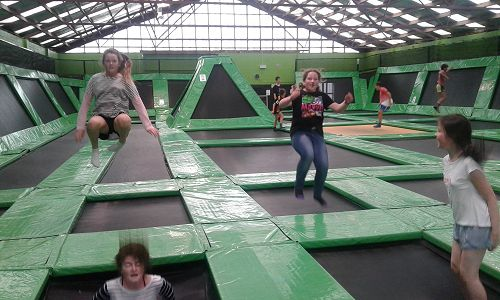 Activities Day at Flip Out in Timaru