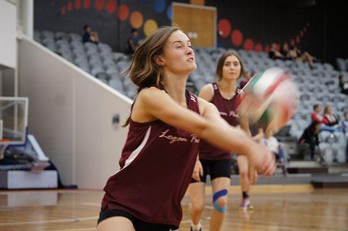 Senior A volleyball tournament