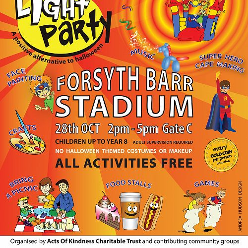Light Party - 28 October