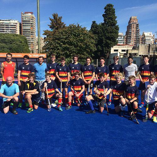 Training session, Club Ciudad Buenos Aries