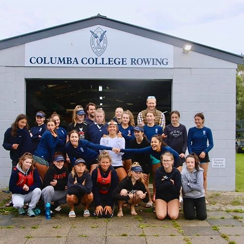 Columba Rowing Club - with Eric Murray