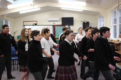 International Students Powhiri Welcome