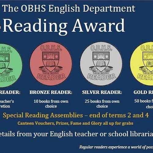 OBHS Reading Award