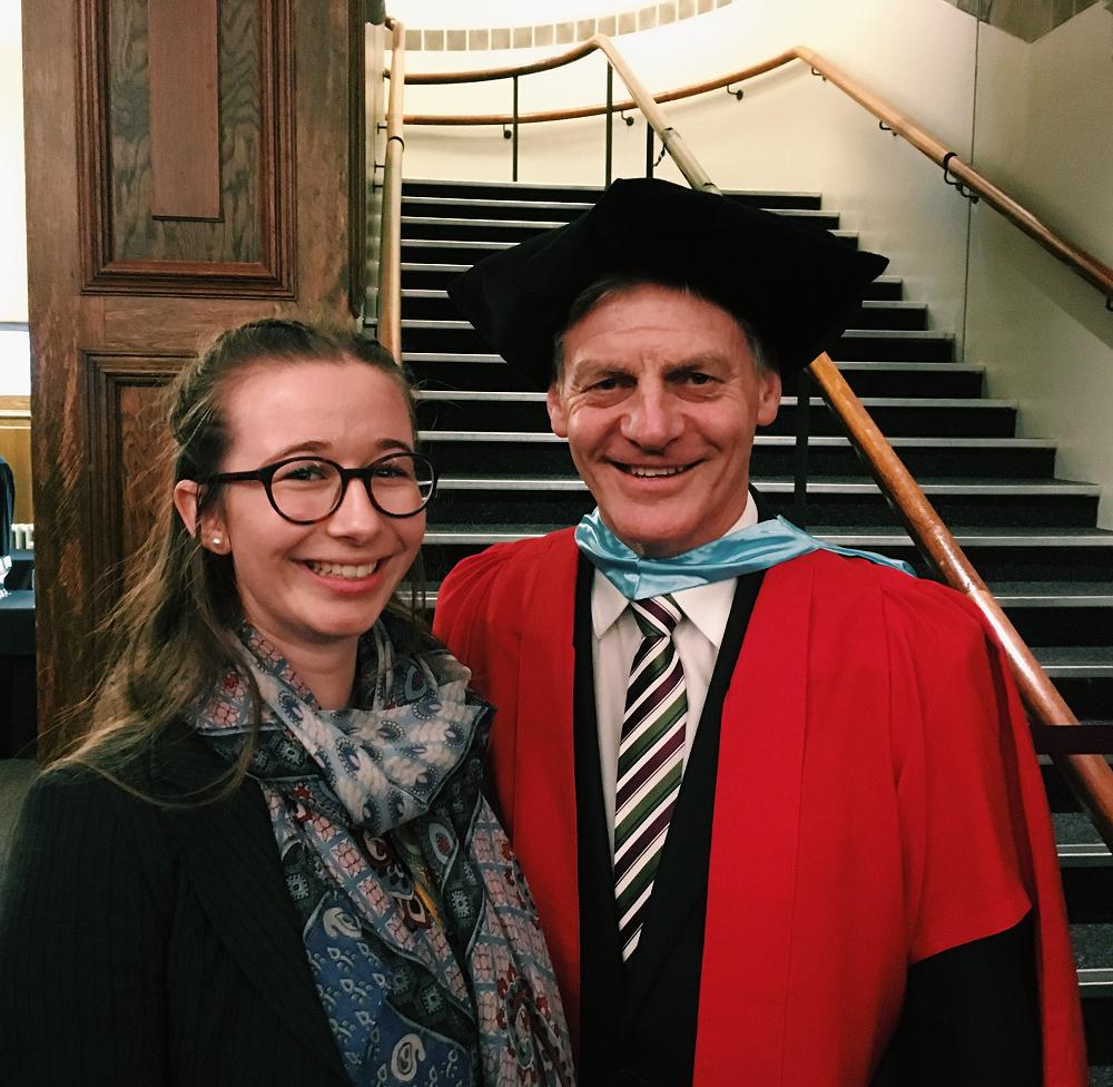 Laurie Duncan and Sir Bill English, 1 June 2019
