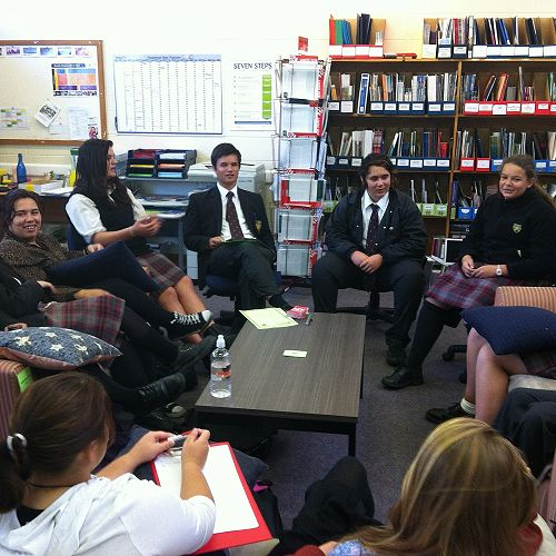 Maori Student and Pacific Islands Student Leadership Teams