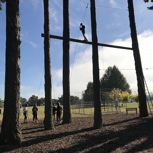 Year 10 Challenge Ropes Course