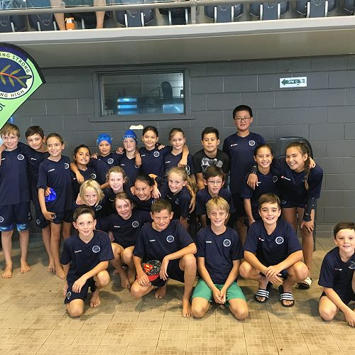 Our wonderful Kaurilands Swimming Team