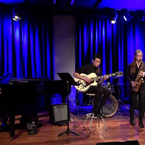 Video: Jazz Combo at the Arts Centre