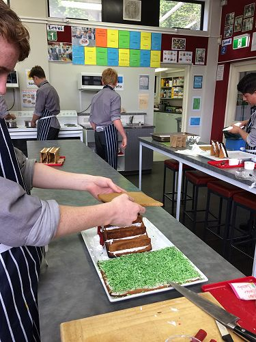 Year 10 Food Technology Gingerbread Structures