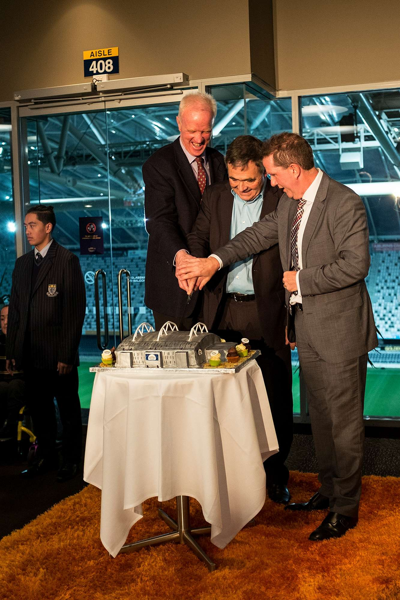 Forsyth Barr Stadium 5th Birthday Function