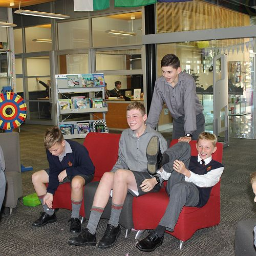 Library Week - The Chocolate Game