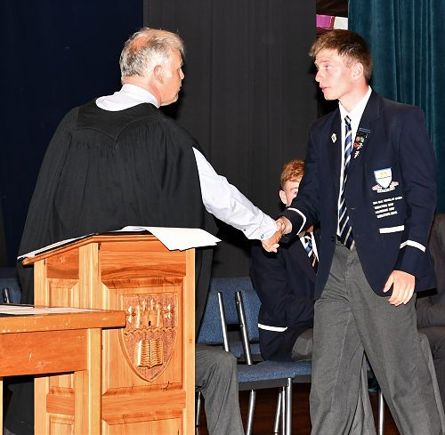 2019 Prefects and 2018 Scholarship Assembly