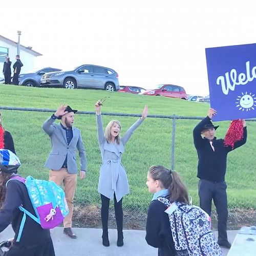 Video: First Day Back to School Welcome