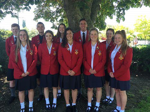 GHS Senior Leaders for 2016