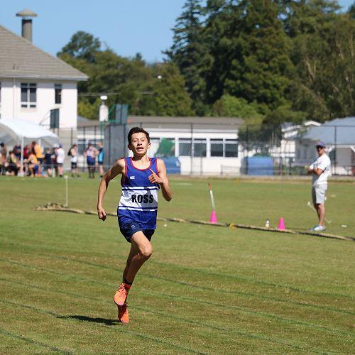 Josh Hou: Novice Cup winner. Novice 400m, 800m, 3000m record holder.