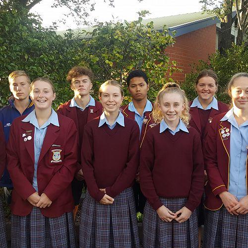 Roncalli College South Island Athletics Team 2018