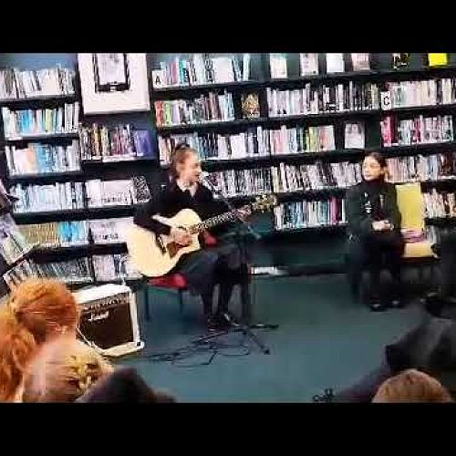 Video: Music in the library with Sienna Baker