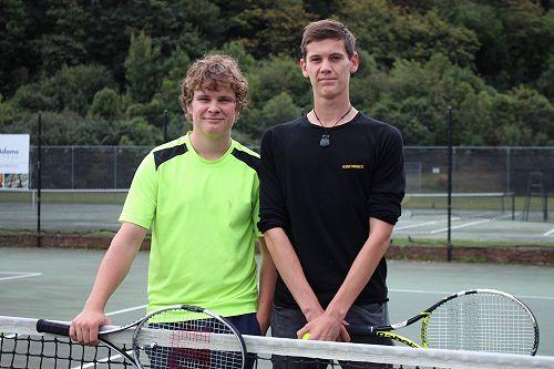 Winning Tennis Duo