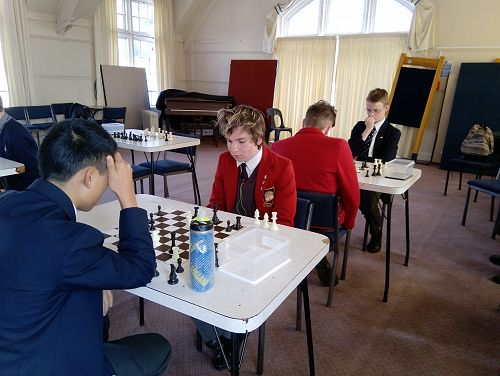 OBHS v WBHS Interschool - Chess
