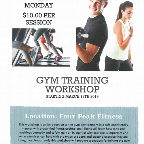 Gym Training Workshop