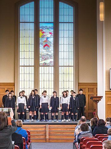 Ichikawa High School Farewell - John McGlashan Col