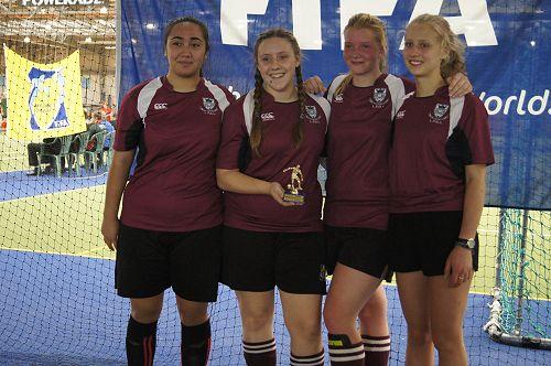 Senior A Girls Futsal Winners