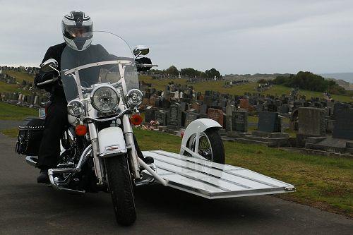 Harley Davidson Sidecar Hearse