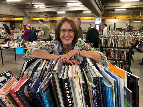 Linda Geddes, Manager Collections and Access - retires June 2020