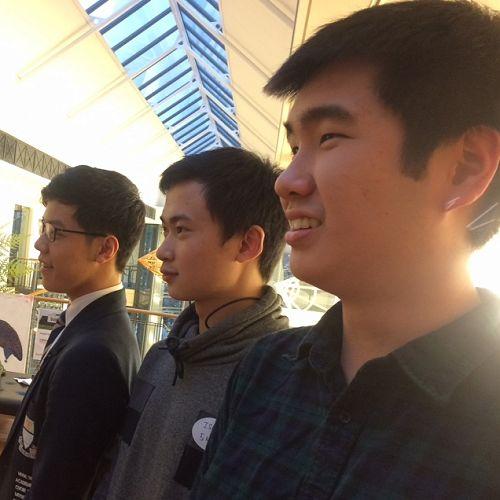 Sean Woo, Isaac Lee and Bob Lee
