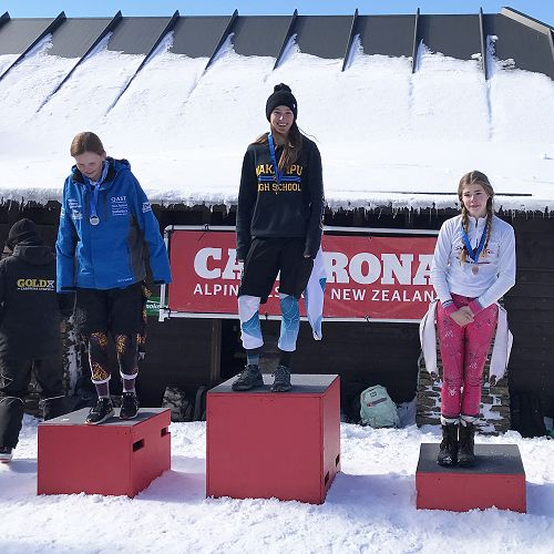 South Island Secondary School Ski & Snowboard Champs