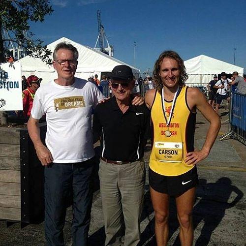 John Walker, Arch Jelly and Hamish Carson