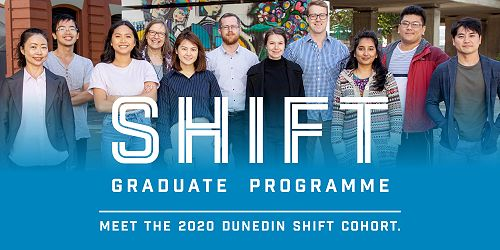 Dunedin SHIFT Speed Networking event, Friday 21 August 2pm - 4pm