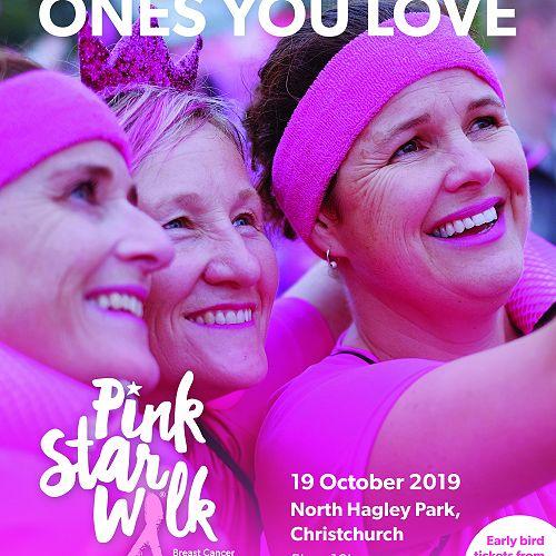 Christchurch Pink Star Walk