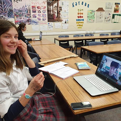 Virtual Exchange - Bringing the fascinating world of Korea into the classroom.