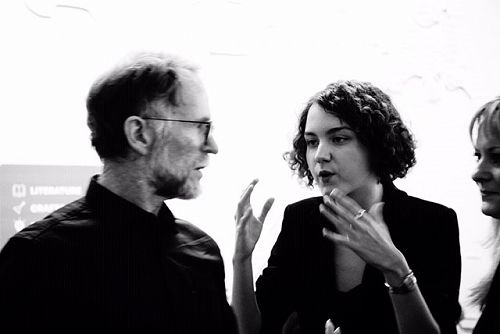 David Howard with thecomposer Sofia Filyanima and