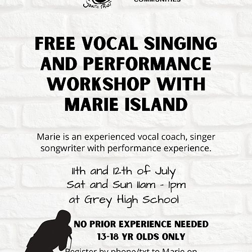 Free Singing and Performance Workshop